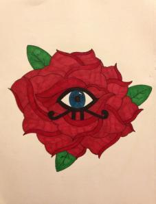 rosa radiante